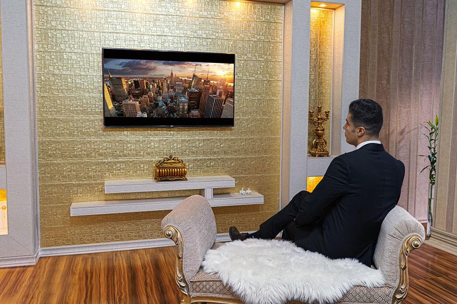 نمونه کارهای TV Room طرح 2