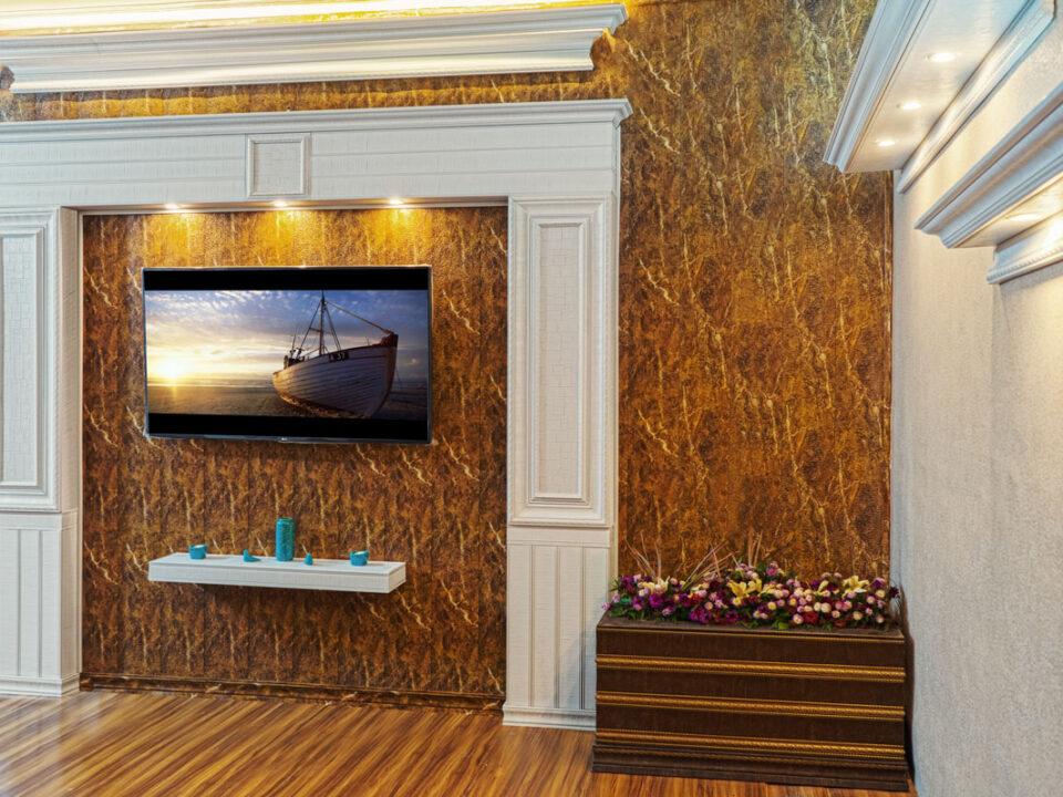 نمونه کارهای TV Room طرح 4